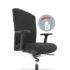 Köhl Selleo +, ergonomischer Sitzkomfort für Menschen mit  höherem Köpergewicht.