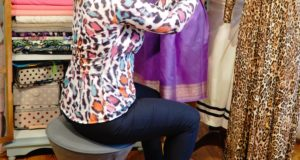 Nandini Mitra & der 3D-Aktiv-Sitzwopper